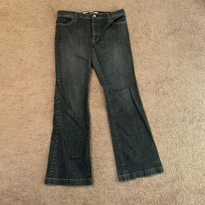 Gap Long and Lean Flared Jeans